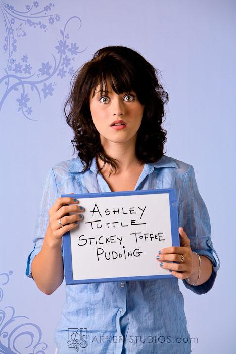 Ashley as Zooey Deschanel